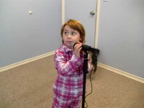 Lexi L.  3 year old singing Apple Bottom Jeans