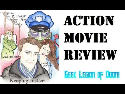 KEEPING JUSTICE ( 2017 Hayden Mackey ) Action Movie Review