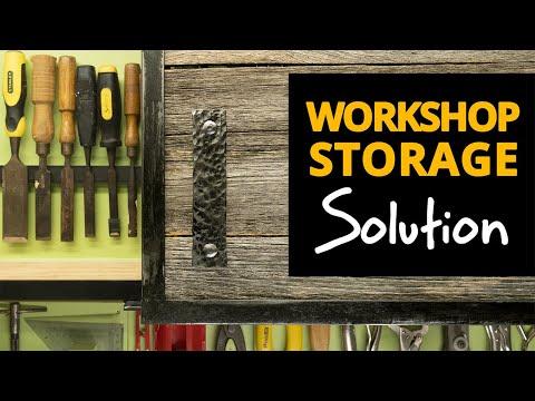 DIY Folding Garage Storage Cabinets For Tool Organisation In Your Workshop