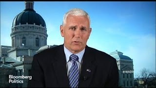 Mike Pence: How About a Governor for President?
