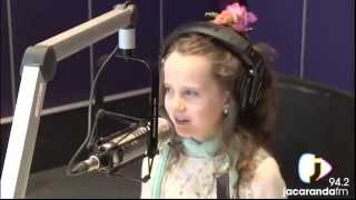 opera singer amira willighagen 9 sings interviewd and opens playground and more