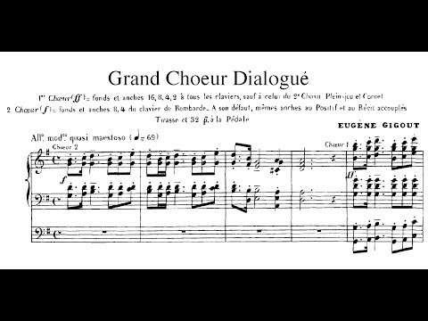 Eugène Gigout/Smedvig - Grand chœur dialogué (1881) arr. for Organ, Brass & Percussion