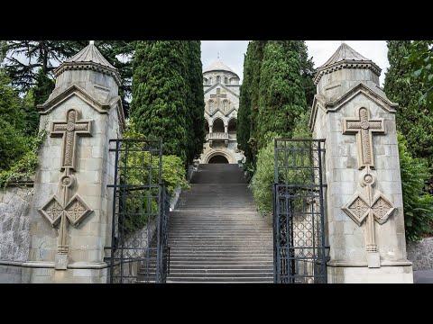 Армянская церковь  Святой Рипсиме. Архитектурный шедевр начала ХХ века.Ялта.HD