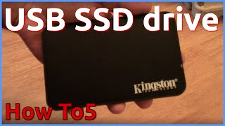 USB SSD drive Kingston - 60GB SSDNow 300V - Test and Review