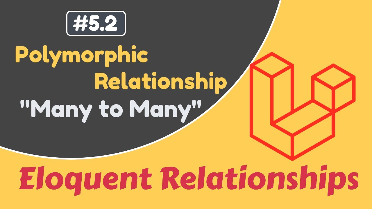 #5.2 Many to Many Polymorphic Relationship | Laravel Eloquent Relationships