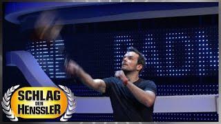 Spiel 12 - Badminton-Maschine - Schlag den Henssler