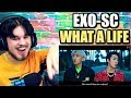 EXO-SC 세훈&찬열 'What a life' MV | VISUAL KINGS ARE HERE! | REACTION!!