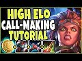 HIGH ELO Call-Making Tutorial 🔥 Even in this elo they need guidance! TOP Illaoi Season 9 Gameplay