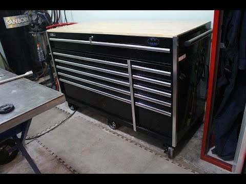 Husky 60 Inch Tool Box Tour Youtube