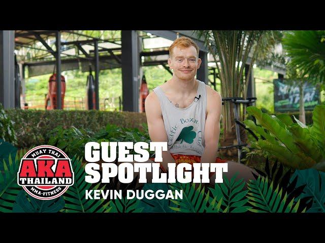 AKA Thailand Guest Spotlight - Kevin Duggan