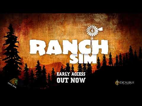 Ranch Simulator | Official Multiplayer Trailer (OUT NOW IN EARLY ACCESS!)