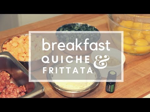 Breakfast Quiche & Frittata