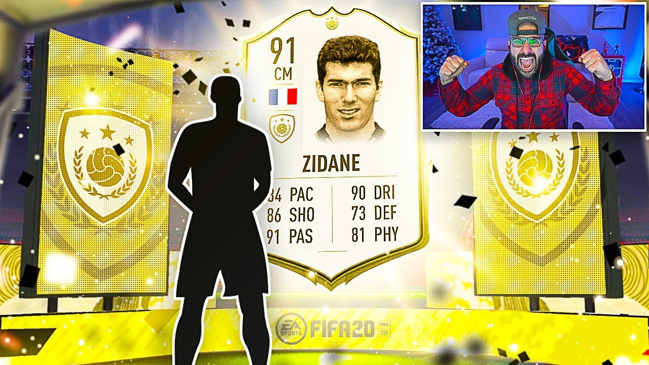 OMG ZIDANE PACKED!! BEST PACK OPENING EVER! FIFA 20 Ultimate Team thumbnail