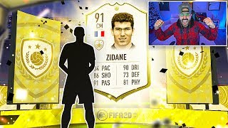 OMG ZIDANE PACKED!! BEST PACK OPENING EVER! FIFA 20 Ultimate Team
