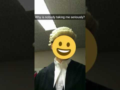 Day in the life of a barrister Snapchat story