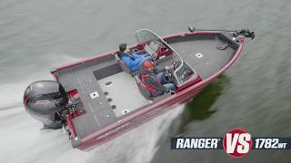 Ranger Aluminum Deep V VS1782WT On-Water Footage