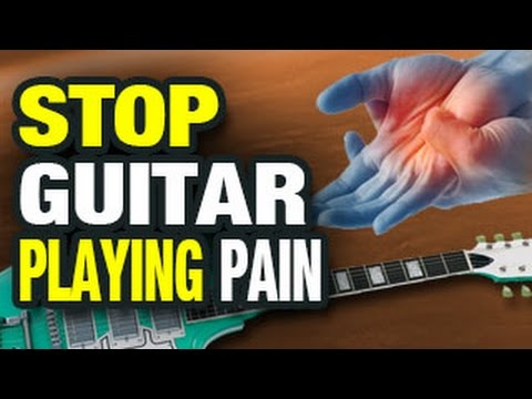 🎸  Stop the Pain from Guitar Playing