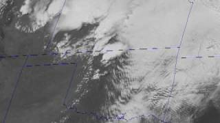 GOES-13 Watches Midwest Tornado Outbreak (2010.05.10)