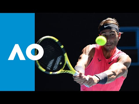 Rafael Nadal Vs Pablo Carreno Busta Match Highlights R3 Australian Open 2020 Youtube