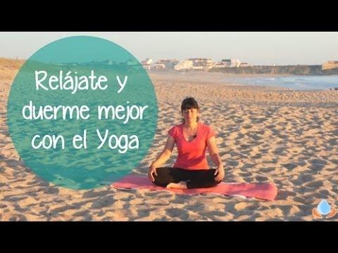 Clase de yoga para relajar los m sculos calmar la mente y - Lo mejor para dormir ...