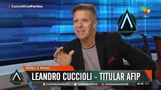 Скачать Leandro Cuccioli Titular De AFIP Mano A Mano En Animales Sueltos