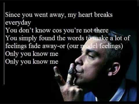Robbie Williams You Know Me W Lyrics On Screen Youtube