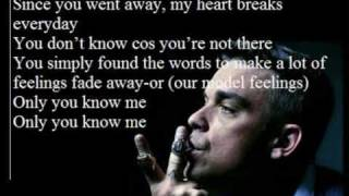 Robbie Williams - You Know Me (w/ Lyrics on screen)