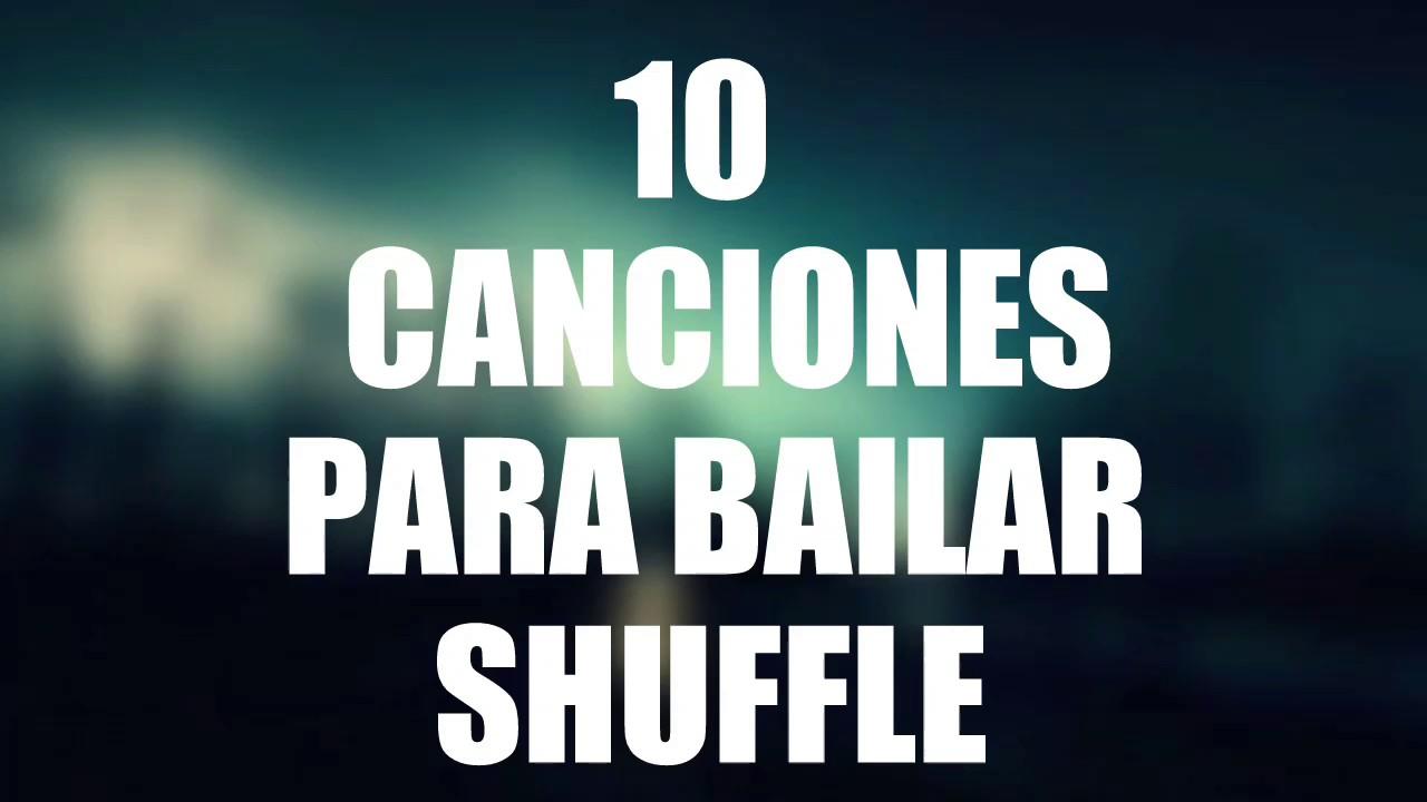 10 Canciones Para Bailar Shuffle/Cutting Shapes #5
