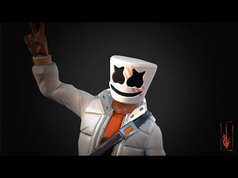 Marshmello - Alone Fortnite Creative Mode. New Update Code:7961-7875-6532