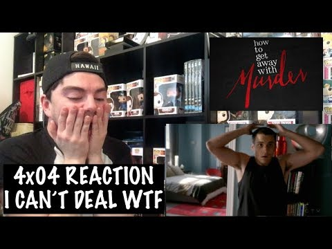 HOW TO GET AWAY WITH MURDER - 4x04 'WAS SHE EVER GOOD AT HER JOB?' REACTION
