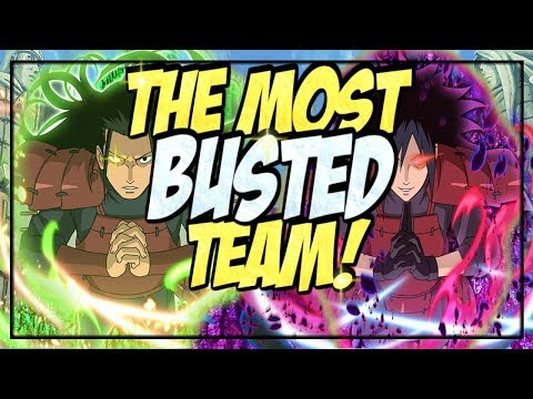 NEW! MOST BUSTED TEAM YET! RANKED PVP MATCHES! | Naruto Shippuden Ultimate Ninja Blazing