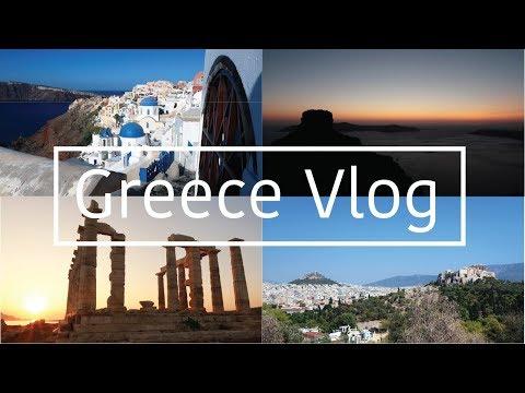 GREECE VLOG: SANTORINI + ATHENS