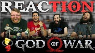 God of War - Be A Warrior (PS4) Gameplay Trailer REACTION!! E3 2017
