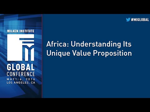 Africa: Understanding Its Unique Value Proposition
