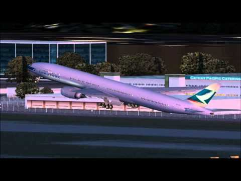 FS2004 國泰航空 Cathay Pacific