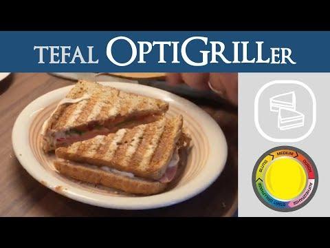 Tfal Optigrill Hot Dogs