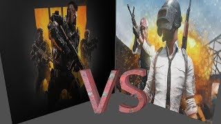 Call of Duty Black Ops 4 VS PLAYERUNKNOWN