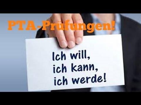 PTA Ausbildung, die Prüfungen!