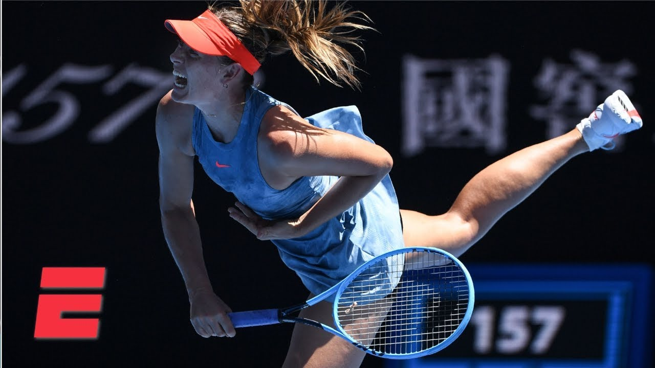 2019 Australian Open Highlghts: Maria Sharapova dominates Harriet Dart in Round 1 | Tennis