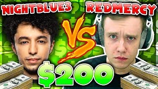 REDMERCY vs NIGHTBLUE3 $200 1v1 SHOWDOWN! (New Season) - League of Legends