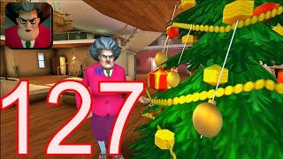 Scary Teacher 3D - Gameplay Walkthrough Part 127 New Christmas Update New Levels (Android/iOS)