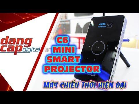 Máy chiếu thông minh thời hiện đại: HISMART C6 Mini Smart Projector - Dangcapdigital.vn