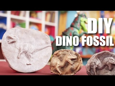 How To Make A Dino Fossil | DIY Craft | Mad Stuff With Rob