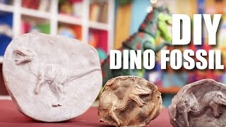 How To Make A Dino Fossil