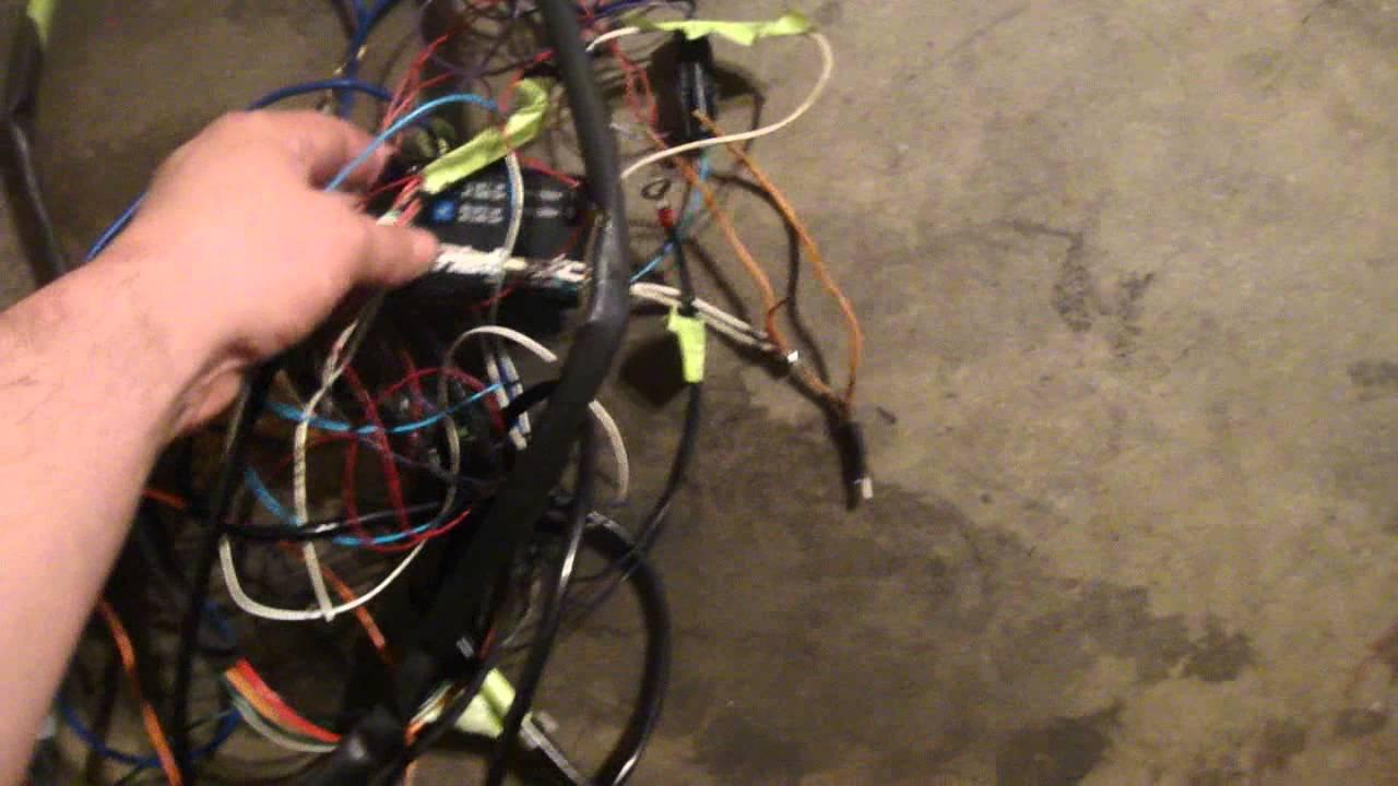 hight resolution of fiat wiring harness x19 youtube volkswagen beetle wiring harness fiat x1 9 wiring harness