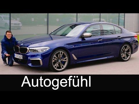 BMW 5 Series M550i FULL REVIEW M-Performance 5er G30 test - Autogefuehl