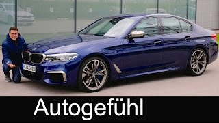 BMW 5 Series M550i FULL REVIEW M-Performance 5er G30 test - Autogefuehl