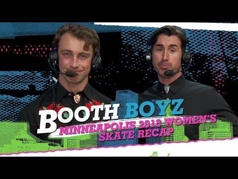 Booth Boyz: Women's Skateboard Recap - XG Minneapolis 2018   World of X Games