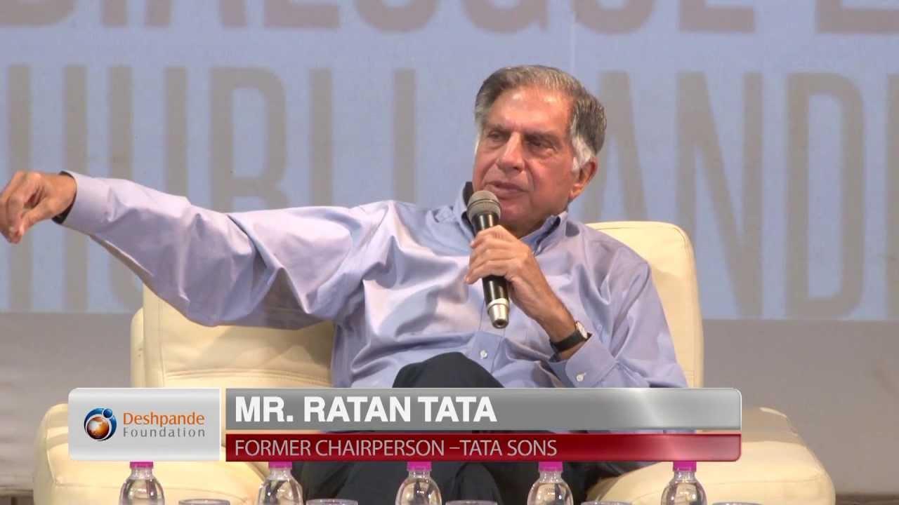 Ratan Tata on Social Entrepreneurship & Corporate Social Responsibility