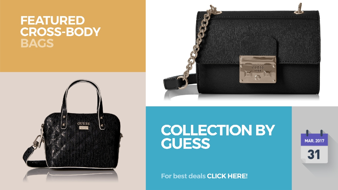 Collection By Guess Featured Cross-Body Bags - YouTube fbb00c7aa2bb0